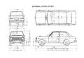 Datsun 1000 Blueprints (B10, VB10, B20)
