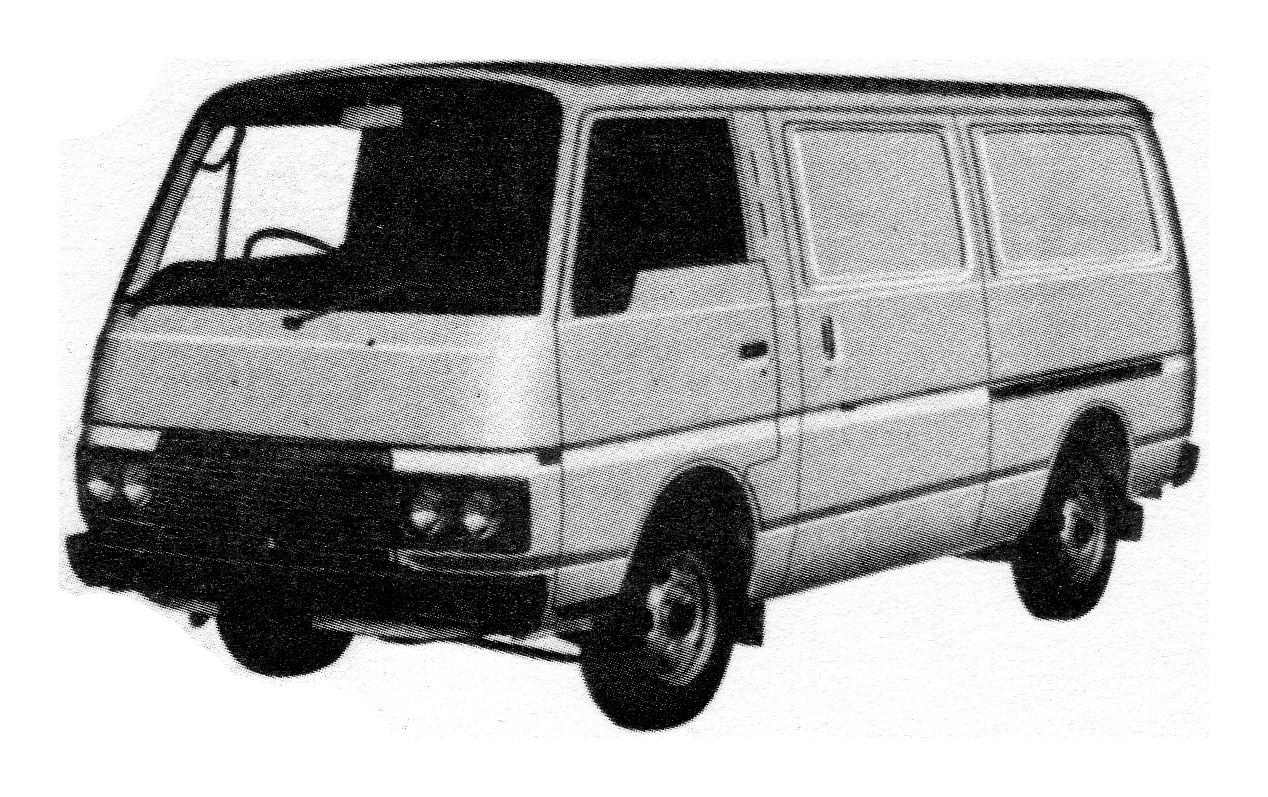 Nissan Urvan - Datsun 1000