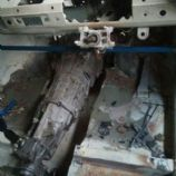 gearbox tunnel removed