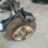 Rear brakes mock up